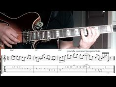 Jazz guitar lesson with tab | Tritone substitution | Bebop scale