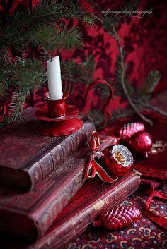 nelly vintage home: Приятна вечер. Christmas vignette