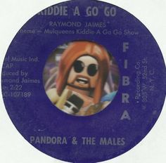 PANDORA & THE MALES Kiddie A Go Go 1ST TED NUGENT GROUP GARAGE ROCK 45 RPM NM