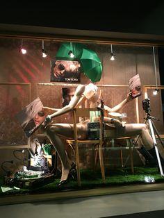 "MORTIMER HIRST OPTOMETRIST, Auckland-City, New Zealand, ""Girls on Film"", for Tom Ford Eyewear, created by Ton van der Veer"