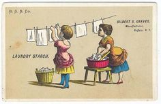 Vitage Laundry Detergent | 13 Vintage Soap and Laundry Advertisements - Laundry Room Art