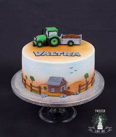 Valtra tractor cake