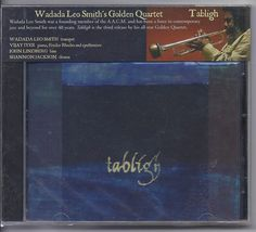 Wadada Leo Smith s Golden Quartet CD Tabligh Vijay Iyer John Lindberg Shannon J