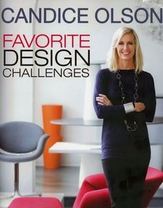 """In her newest book, """"Candice Olson: Favorite Design Challenges"""" Olson, who rose to fame as host of an HGTV show, shares the process of restyling 24 rooms, from a basement suite to an attic guest room."""