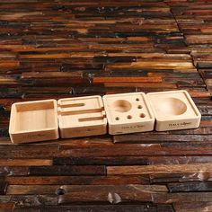 Wooden Desk Organizer, Company Gifts, Office Stationery, Wood Desk, Business Gifts, Desk Organization, Dark Wood, Custom Design, Wooden Desk