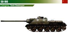 SU-100 Tank Destroyer