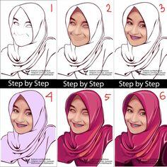 Step by step vector vexel