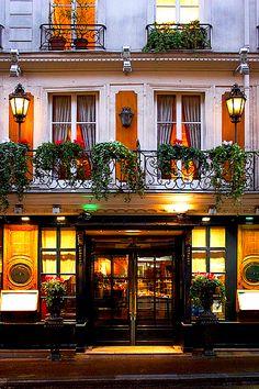 The historic restaurant, Le Procope ~ Quartier Latin, Paris by © Rita Crane
