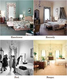 The First Family master bedroom White House Usa, White House Interior, White House Tour, Inside The White House, Green Rooms, Blue Rooms, Dc Vibe, Historic Homes, Ideal Home