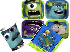 Monsters University Basic Party Pack for 8