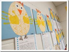 Could use with chicken little - write a letter to chicken explaining how he could have changed his fate... or as persuasive writing with which came first, chicken or egg.
