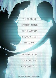 """""""A segunda coisa mais difícil do mundo é dizer que sinto mundo. A primeira é dizer que te perdoo"""" Fnaf 3"""
