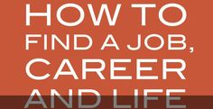 Louis Efron – How to Find a Job, Career and Life You Love | Review