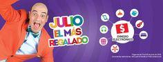 Julio Regalado 2016 en Soriana bonificación en dinero electronico
