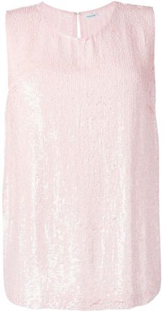 Pin for Later: Get Pretty in Pink With Pantone's Colour of the Year P.A.R.O.S.H. Sequinned Tank Top P.A.R.O.S.H. Sequinned Tank Top (£291)