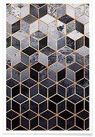Daydream Cubes - Elisabeth Fredriksson - Premium Poster