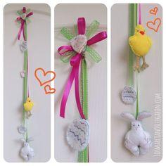 La Easter-Manía: Ideas para decoración de Pascua #Fieltro #Felt #DIY #Pascua #Easter