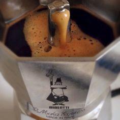 Italian Moka Bialetti Coffee, mate;