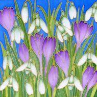 Pauline Townsend - Silk Painter - Flower Gallery