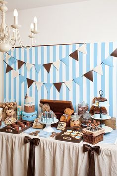 Teddy Bear Baby Shower Idea