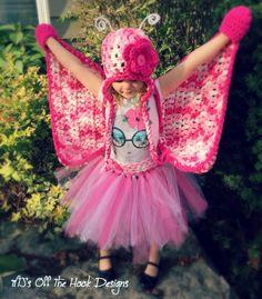 Crochet Butterfly Costume