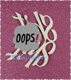 Naughty swear words. Tiny papercuts. Just at www.etsy.com/shop/daisyjaynehandmade #papercraft #papercut #handmade #sparkles #swear