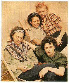 Nusch Eluard, Ady Fidelin, Lee Miller, Leonora Carrington (1937 - Lee Miller Archive)