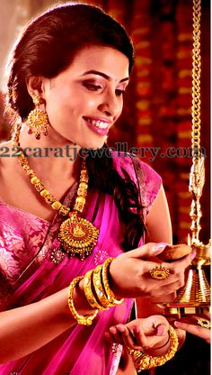 Jewellery Designs: Latest Jewellery Ad in Kundan Work