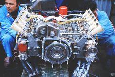The Alfa Romeo F1 engine