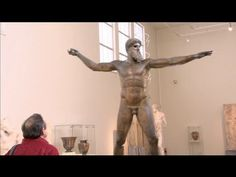 Visiting the National Archaeological Museum of Athens (Greek / English Subtitles) Ancient Greek, Athens, Greece, Villa, English, Statue, Museums, Greece Country, English Language
