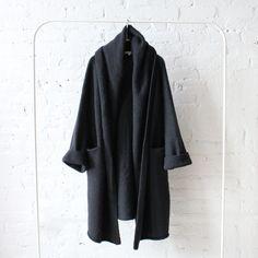 rennes — Lauren Manoogian Capote Coat Soft Black