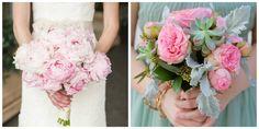 bouquet mariage rose et vert
