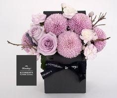 Bloomsbury's mini natural flower box arrangement.