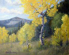 In the key of yellow by Nancy Romanovsky Oil ~ 16 x 20