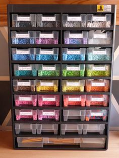 Perler bead organizer by floxido on DeviantArt