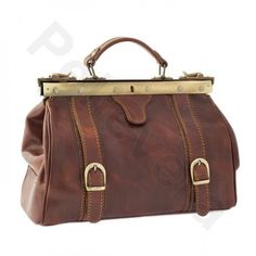 73308b1b6d4 Doctors bag. Leather bag by Pellevera. Made in Italy. #onlineshopping...  via Polyvore