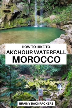 Are you up for a breathtaking waterfall experience in Morocco? This is a complete guide to how to hike Akchour waterfall in Morocco. #waterfall #hiking #travel #beautifuldestinations #responsibletravel #offthebeatenpath #traveltips #africa #northafrica #brainybackpackers #responsibletourism