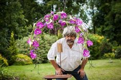 One of the best floral artist of the world Gregor Lersch Floral Design with his design of beautiful Vanda's by Anco pure Vanda! (photo by Наталья Веселова)