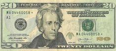 2013 $20 TWENTY DOLLAR BILL STAR ✯ NOTE BOSTON MA Federal Reserve MA 03716093 ✯