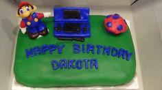 Mario/Nintendo DS Cake