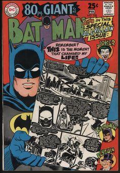 BATMAN #198 CLASSIC STORIES INC. ORIGIN. VF+ CENTS COPY VERY TIGHT STRUCTURE