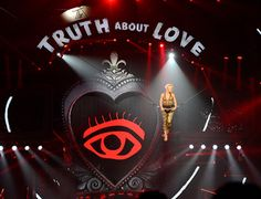 Pink's new show features a big, red prominent All-Seeing Eye of the Illuminati during a big part of it. Why? Because. It has to be everywhere.