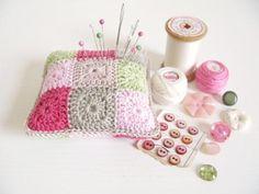 Crochet Pin Cushions by Emma Lamb