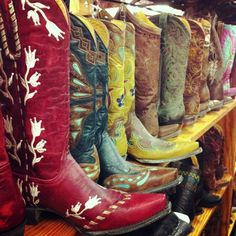 Austin, Texas Allen's Boots on South Congress (boot HEAVEN). I will have some boots this year if it is the only thing I buy