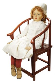 Rare Exhibition-Size German Character Doll by Dora Petzold with Signed Petzold Shoes cm. Antique Dolls, Vintage Dolls, Little My, Stockinette, French Fashion, Other People, Paper Dolls, Compliments, Doll Clothes