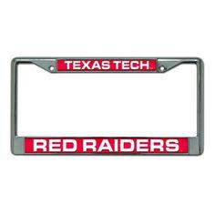Texas Tech Red Raiders NCAA Laser Chrome Frame