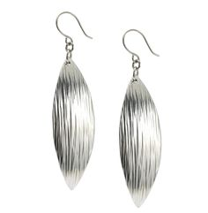 New! Cool Chased Aluminum Leaf Drop Earrings Presented by #AmazonPrime #10thAnniversary http://www.amazon.com/dp/B01B70D1S4