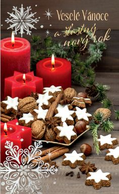 Tea Lights, Wallpapers, Candles, Cookies, Table Decorations, Star, Beautiful, Home Decor, Crack Crackers