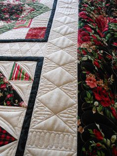 FMQ Border Green Fairy Quilts