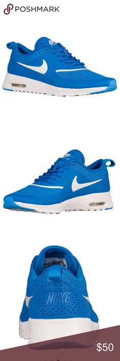Nike Air Max Thea Tennis Shoes Nike Air Max Thea Tennis Shoes, Blue, Size 8, Brand New With Tags, No Box Nike Shoes Sneakers